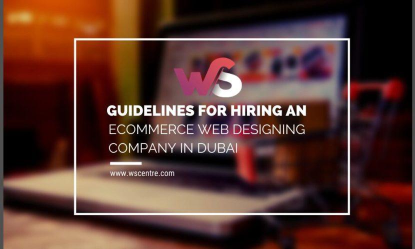 Ecommerce Web Designing Company in Dubai